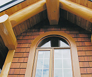 Casement Window XO with Arch Installed