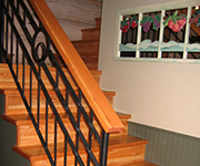 Interior Fir Flooring With Staircase Installed