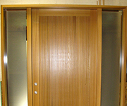 Modern Vertical Lines With Satin Etch Sidelites