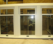 Single Hung Window with 3 Openers