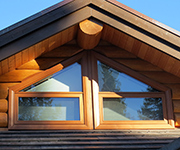 Trapezoid Window with Bottom Awning