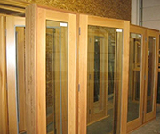 French Door - Double with Sidelites on Each Side