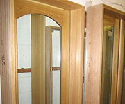 French Door - With Arch & Internal Brass Grids
