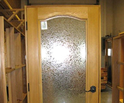 French Door -  With Arched Bolection Trim