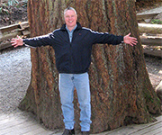 Terry Palasty and the 1,300 Year Old Tree