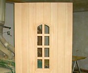 Tru Divided Arched Door