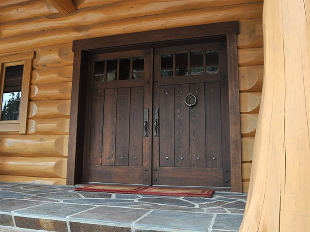 Panorama custom woodworking windows doors flooring for Interior exterior doors